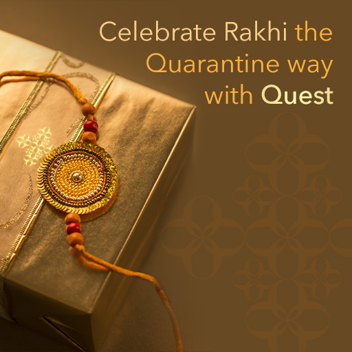 Luxury Rakhi gifts for him and her - Shop from home with Quest