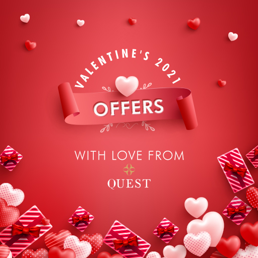 Valentine's 2021 Offers - With Love from Quest