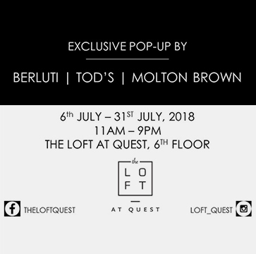 Exclusive Pop Up by Berluti, Tods, Molton Brown