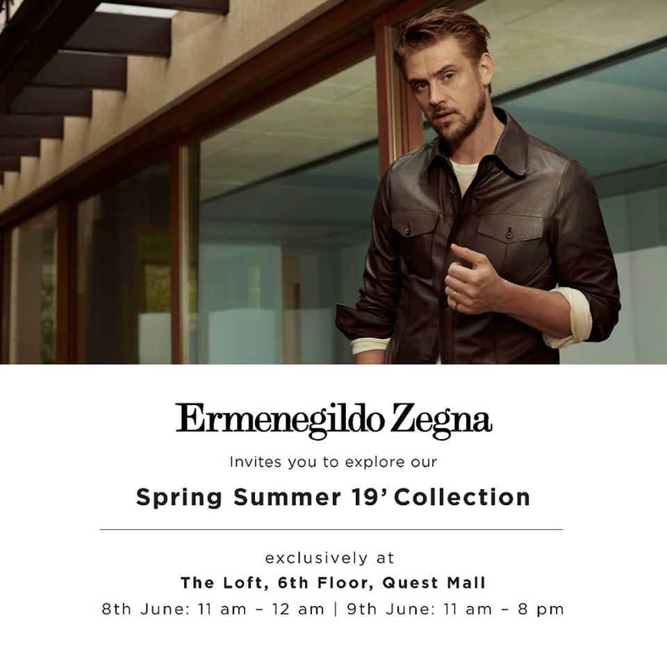 Ermenegildo Zegna - Spring Summer'19 Collection