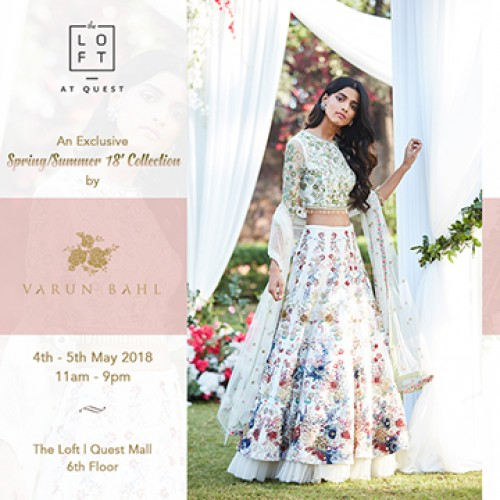 Spring/summer Collection by Varun Bahl