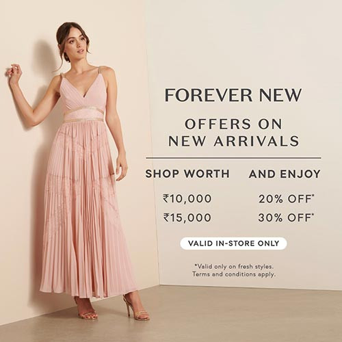 Shop Worth Rs10,000 And Enjoy 20% Off, Shop Worth Rs15,000 And Enjoy 30% Off.